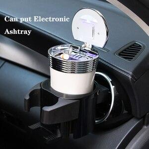 Image 2 - Новый Автомобильный держатель для стаканов, держатель для напитков в кондиционер, держатель для бутылок с водой, многофункциональная стойка для хранения