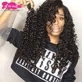 Gracia Hair Products 4 Bundle Rizado Profundo Brasileño Rizado Rizado Pelo virginal Rizado Afro Rizado Armadura Brasileña Rizada Del Pelo Humano pelo