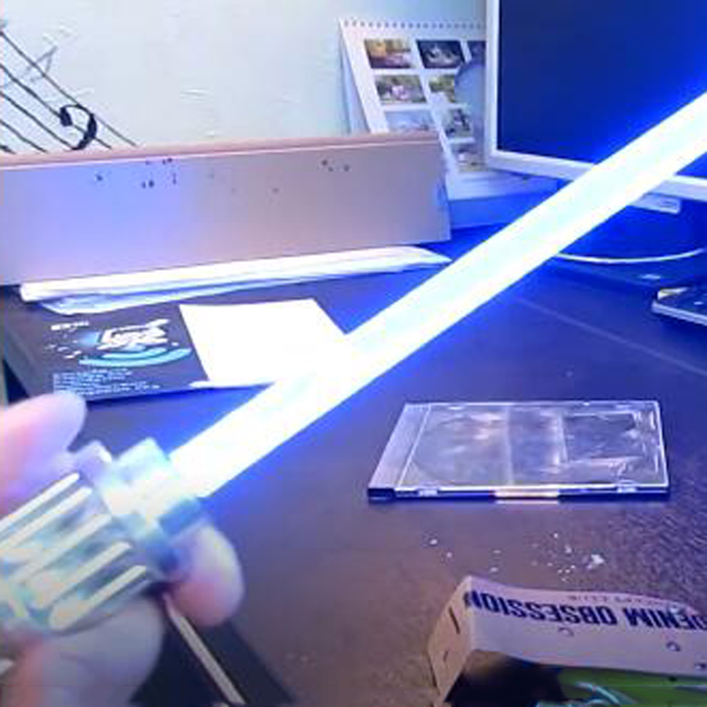 High Power Green / Blue Laser 303 Pointer Light Stick  Outdoor Laser Sight Powerful Starry Light Stick Not Include Laser