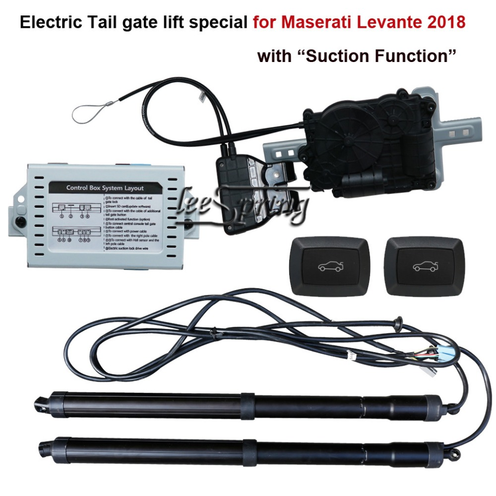 Auto Smart Electric Tail Gate Lift Easily For You To Control Trunk Suit To Maserati Levante 2018 With Suction Function