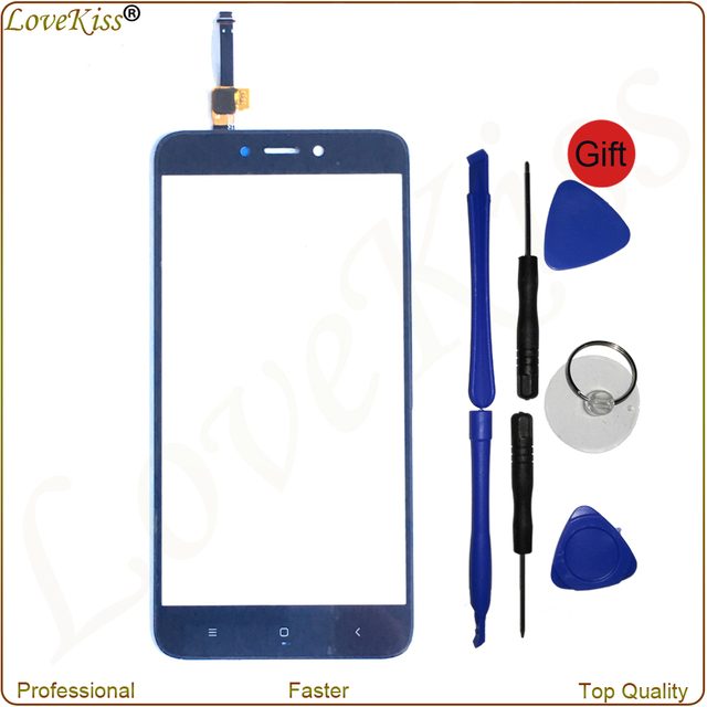 Redmi 4X Pro Touch Panel Digitizer For Xiaomi Redmi 4X Touch Screen Sensor LCD Display Front Outer Glass Lens Cover Replacement