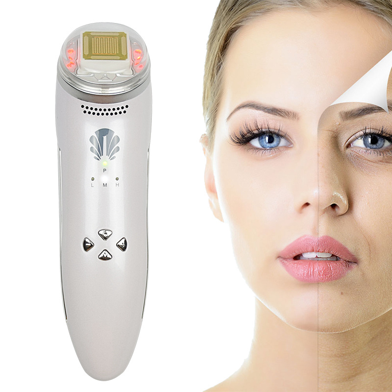 Rechargeable Radio Frequency Thermage Beauty Facial Massage SPA Lifting Rejuvenation Remove Wrinkle Skin Care Family Machine inteligent temperature control lcd display mini fractional rf thermage skin lifting beauty wrinkle remove facial toning device