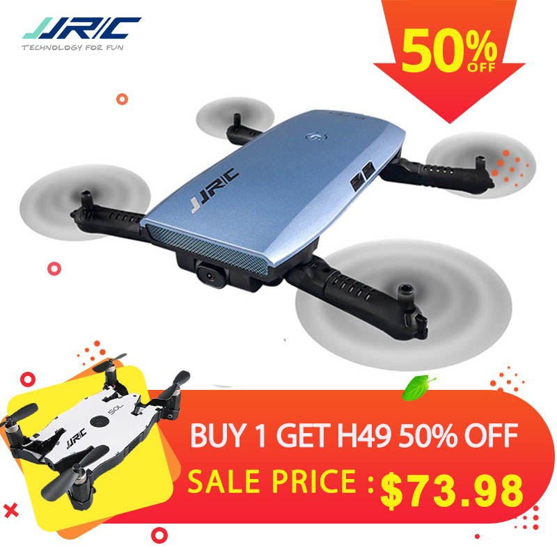 JJRC JJR/C H47 ELFIE Plus FPV with HD Camera Upgraded Foldable Arm WIFI 6-Axis RC Drone Quadcopter Helicopter VS H37 Mini E56 jjrc h47 elfie foldable pocket drone mini fpv quadcopter selfie hd camera upgraded foldable arm rc drone quadcopter helicopter