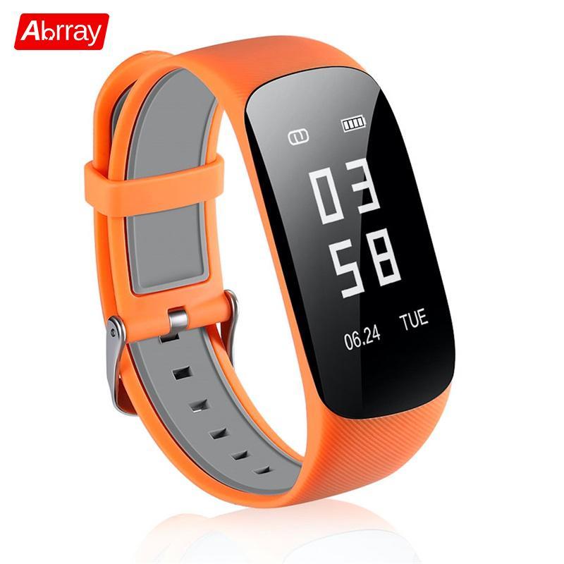 купить Abrray Intelligent Sport Wristband Smart Bracelet Heart Rate Monitor Bluetooth Watch Sleep Monitoring Pedometer For Men Women по цене 1923.65 рублей