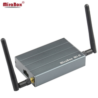 Grey MiraBox Car WiFi Mirrorlink Box for iOS10/9 Android Phone for Screen Mirroring/WiFi Display/Miracast/DLNA Mirror Link
