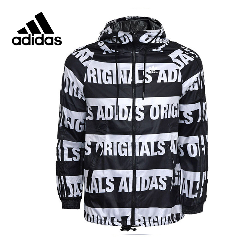 Original New Arrival Official Adidas Women's Jacket Outdoor Windproof Hooded Training Sportswear цена