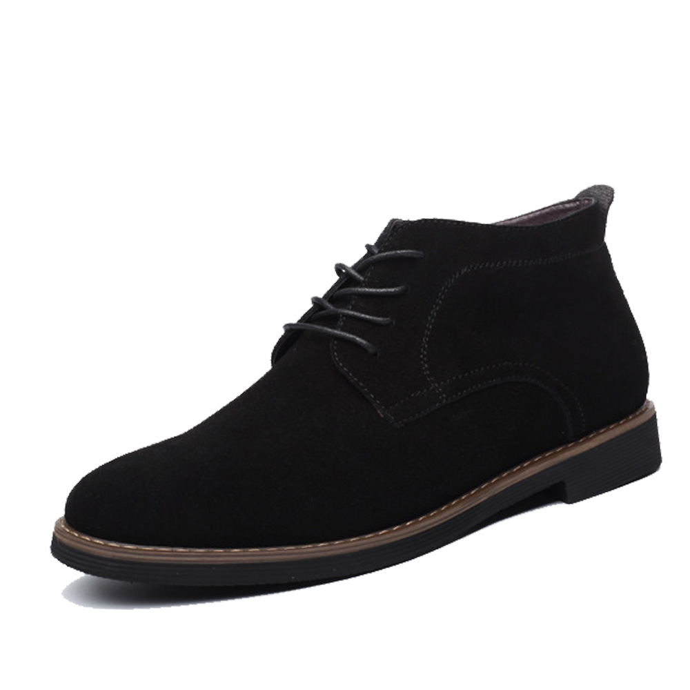 De With Dos Sexo Plus Ankle Homens Sólidos blue Botas Npezkgc black 45 Do brown Casual blue Marca Couro Inverno Fur Outono 38 Sapatos black khaki Boots Brown Masculino Fur Camurça Size khaki Fur Fur FUUqaX