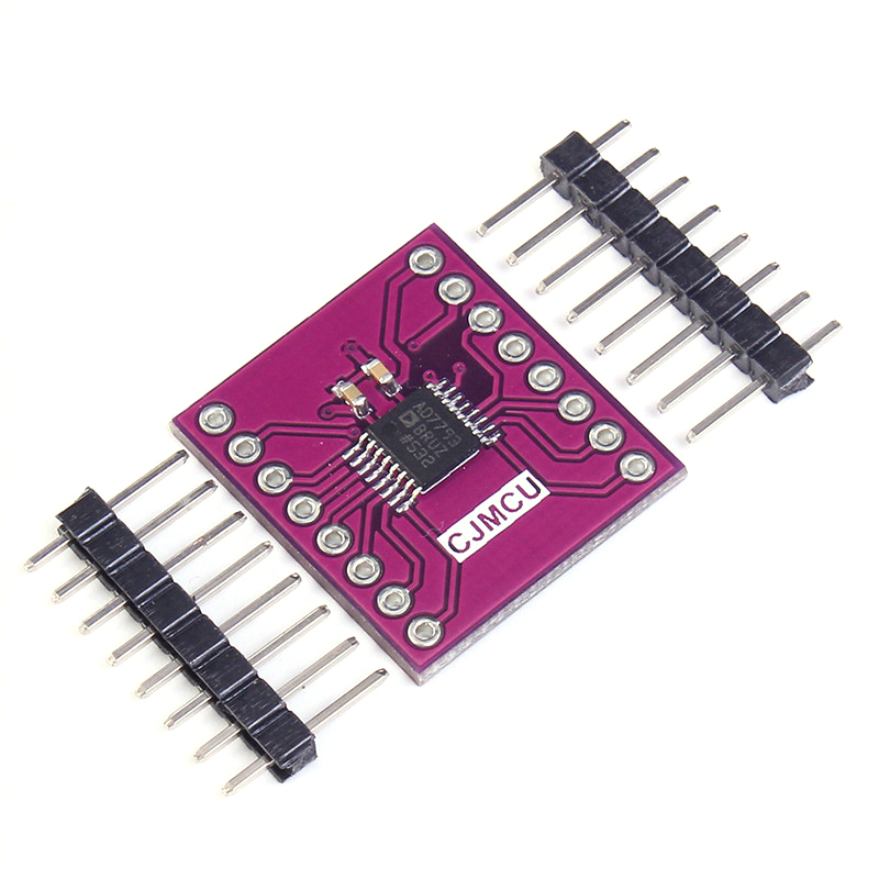 CJMCU-7793 AD7793BRU 24-bit ADC Low Noise Amplifier Module 24 Bit AD7793 3-Channel 2.7-5.25V