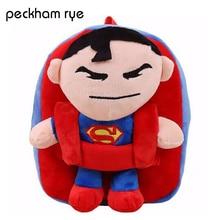 Peckhamrye дошкольного рюкзаки для мальчиков marvel hero детские рюкзаки малыш рюкзак дети сумки супермен бэтмен человек-паук
