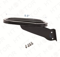 Aftermarket Free Shipping Motorcycle Parts Black TAPERED LUGGAGE RACK For HARLEY DYNA 06 17 SOFTAIL 84