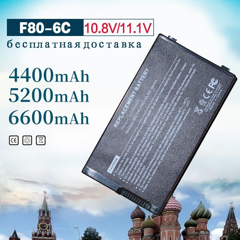6 Cell Battery for Asus A32-F80 F80 F80CR F80s F81 F81E F81Se F83 F83Cr F83Se F83T F83V F83VD F83VF K41 K41E N60W X82L N60D X82C6 Cell Battery for Asus A32-F80 F80 F80CR F80s F81 F81E F81Se F83 F83Cr F83Se F83T F83V F83VD F83VF K41 K41E N60W X82L N60D X82C
