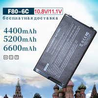 6 zellen Akku für Asus A32-F80 F80 F80CR F80s F81 F81E F81Se F83 F83Cr F83Se F83T F83V F83VD F83VF K41 k41E N60W X82L N60D X82C