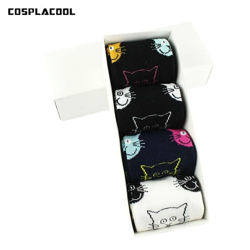 [COSPLACOOL]4 Style Cartoon Face Cat Pattern Cotton s