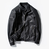 Winter PU Leather jacket Coat Faux Fur Motorcycle Outerwear Warm Thick Jackets For Men 2019 Parka Fashion Brand Hot Sale Tops