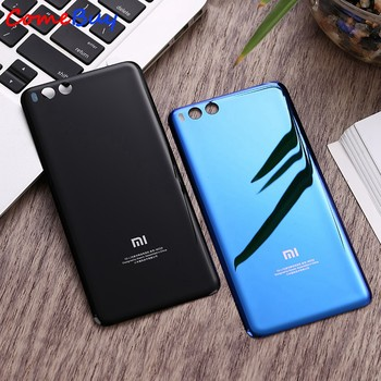 For Xiaomi Mi6 Battery Cover Mi 6 Rear Glass Door Housing Replacement For Xiaomi Mi6 Battery Cover Back Glass Case With Adhesive