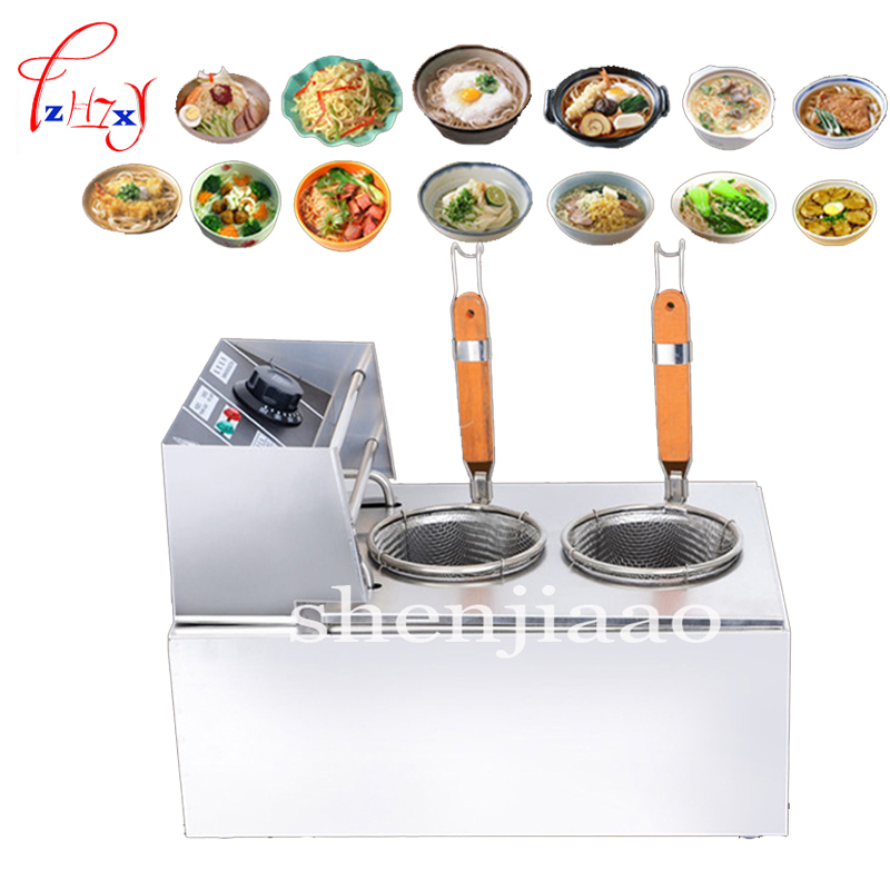 MY-EH81M electric pasta cooker boiler stainless steel double pasta pot noodle machine electric noodle cooker 2500w 220v vosoco commercial electric pasta cooker electric noodle machine 2000w stainless steel pasta boiler cooker electric heating furna