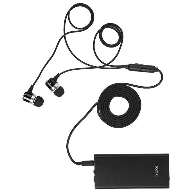 السمع جيب مكبر صوت قابل للتعديل حجم الأذن أدوات العناية MP3 ل الصم المسنين سماعات توصيل العظام