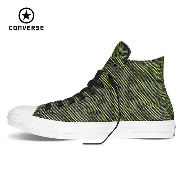 Original Converse Chuck Taylor All Star II High men women's sneakers canvas  shoes high classic Skateboarding