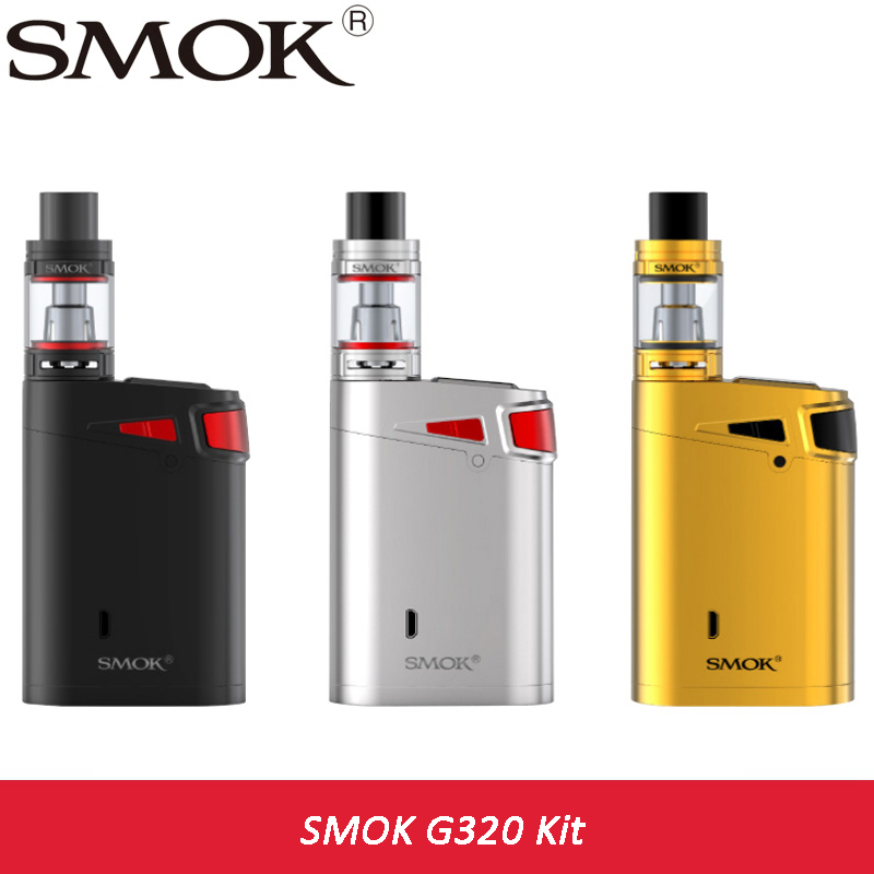 Original 320w SMOK G320 Marshal 320 KIT with 5ml Smok TFV8 Big BABY Tank Atomizer vs G320 Box Mod 320w electronic cigarette Vape electronic cigarette epipe 618 kit e pipe 618 vapor smok wood 2 5ml atomizer with 18350 battery vs e pipe k1000 guardian