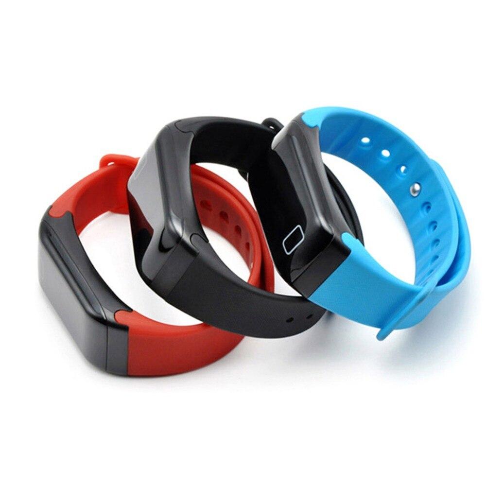 Blood pressure meter Smart bracelet F1 Sports bracelet heart rate measurement LED waterproof Pedometer BT 4