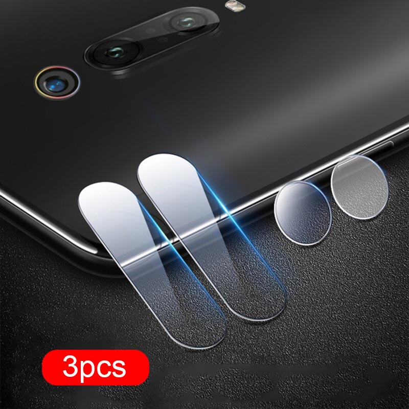 3 Pack Clear Back <font><b>Camera</b></font> Lens Screen <font><b>Protector</b></font> for <font><b>Xiaomi</b></font> <font><b>Mi9</b></font> se Mi a2 lite Glass Redmi Note 7 6 5 6A K20 Pro Protective Film image