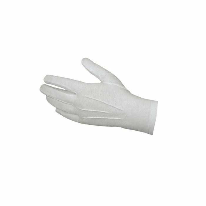 1 ペアホワイトフォーマル手袋戦術的な手袋タキシード名誉ガードパレードサンタ男性検査冬手袋 #15