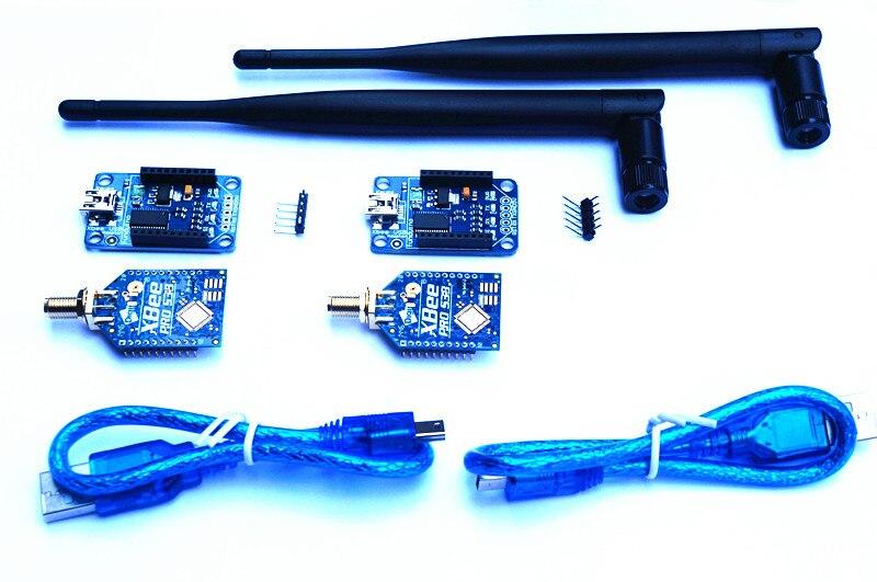 Xbee PRO 900HP S3B RPSMA Wireless Kit 250 mW 28 miglia