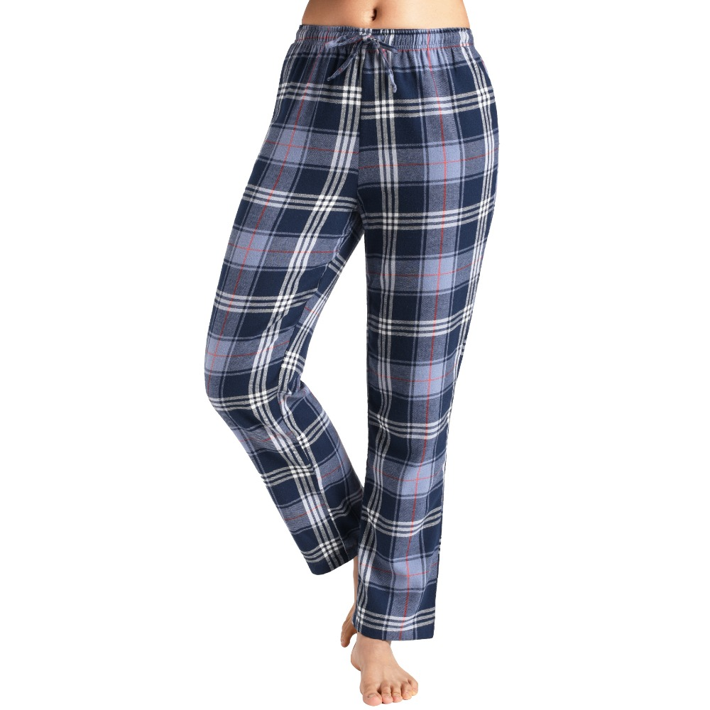 Latuza Womens Pajama Pants Cotton Lounge Pants Plaid PJs Bottoms ...