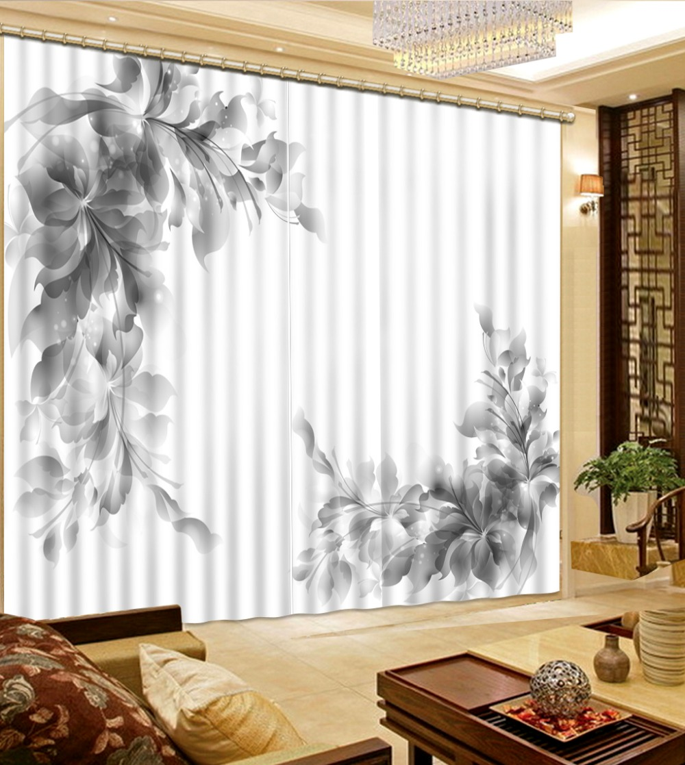 Home Beautiful Decor: 3d Curtains Home Decor Living Room Natural Art Fashion 3D