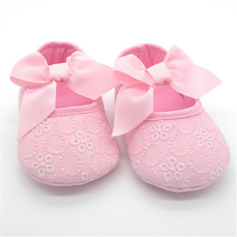 Hot Selling Soft Soled Toddler Baby Girl Crib Shoes Infant Shoes Girls Ribbon First Walkers ShoesHot Selling Soft Soled Toddler Baby Girl Crib Shoes Infant Shoes Girls Ribbon First Walkers Shoes