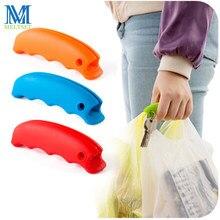 Porte-sac de Shopping Portable, en Silicone souple, crochets pour suspendre sac à main panier de voyage, légumes, fruits, 1 pièce