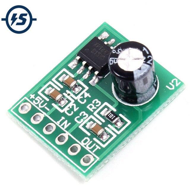Placa de amplificador Mini Mono de 5 V 3 piezas módulo amplificador USB 8871 pista de sonido única XTP8871 20*16 * 8mm