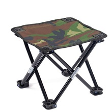 Camping Folding Chair Ultralight Fishing Stool Outside Portable Mountaineering Hike Chair Outdoor Mini Barbecue Beach Chair 1 pc outdoor camping barbecue foldable stool beach fishing folding chair portable stainless steel plastic seat