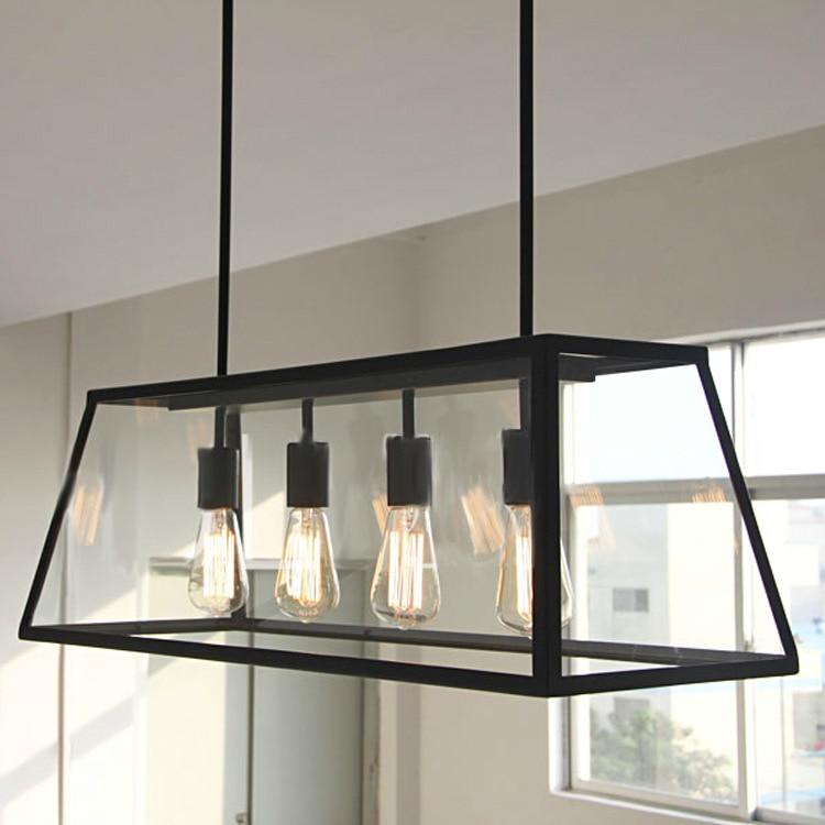 Online Shop Black Vintage Industrial Pendant Light Loft Style