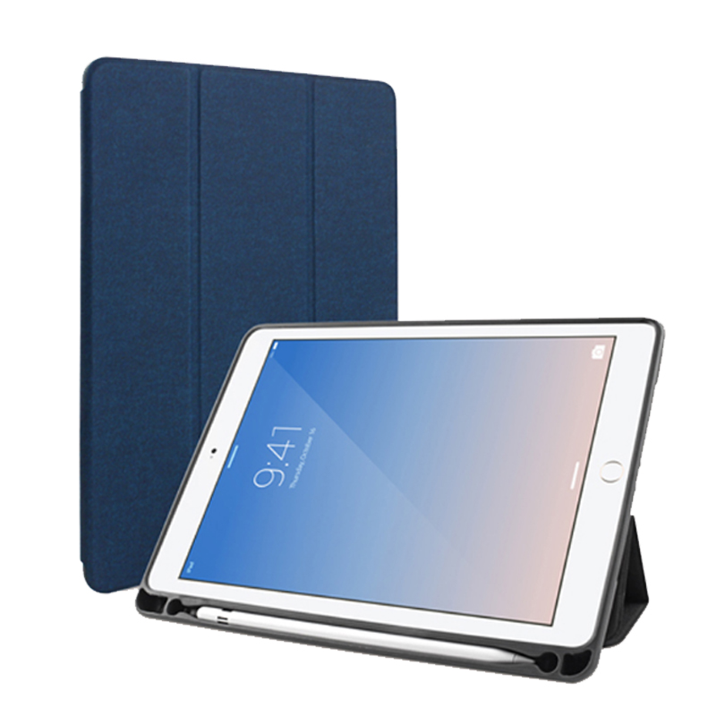 Mutural Case for iPad 5/6/7/8 Case TPU Leather Soft Back Auto Sleep/Wake Up Smart Cover For IPad 5/6/7/8 Solid 9.7 Inch Case baseus guards case tpu tpe cover for iphone 7 plus blue
