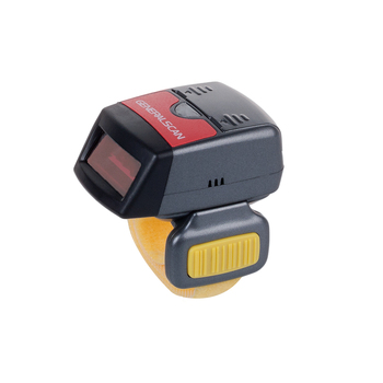 Generalscan R1000BT-HP(06)1D Mini Bluetooth Ring Barcode Scanner for Android&iOS Phones/Tablet Wireless Ring Scanner