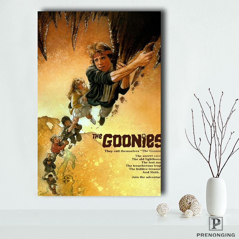 Canvas Poster Fabric Movie-Style Custom Home-Decor The Goonies Classic Fashion -06 Silk