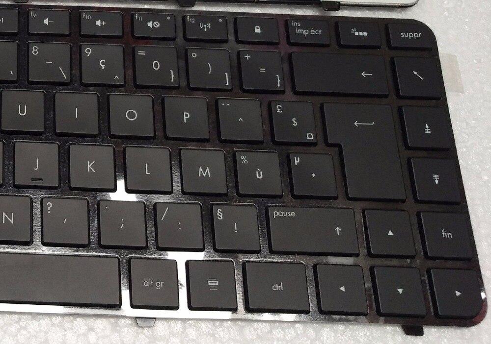 Original New For HP Pavilion dm4t-3000 GR German Backlit Keyboard with frame