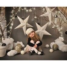 Vinilo Fotografía, Fondo De Navidad estrella F-2212 Ordenador Personalizada Impreso niños Fotografía Telones de Fondo para Estudio Fotográfico