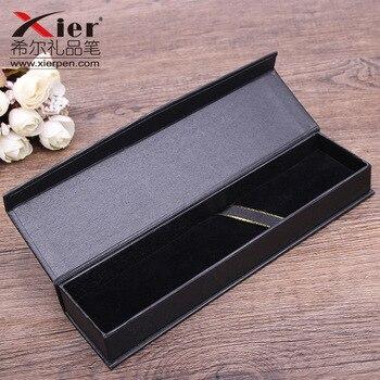 10 sztuk/zestaw Korea sprzedaży prezent pudełko kreatywny szkoła akcesoria papiernicze na prezent pudełko na długopis czarny biznes pudełko na długopis