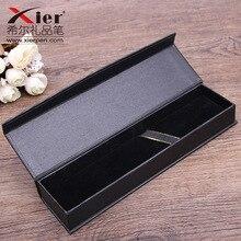 10 قطعة/المجموعة كوريا بيع هدية مربع الإبداعية مدرسة مكتب ادوات مكتبية هدية صندوق القلم أسود الأعمال صندوق القلم