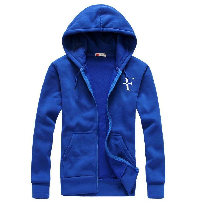 Fashion Roger Federer RF Print Hoodies Ms