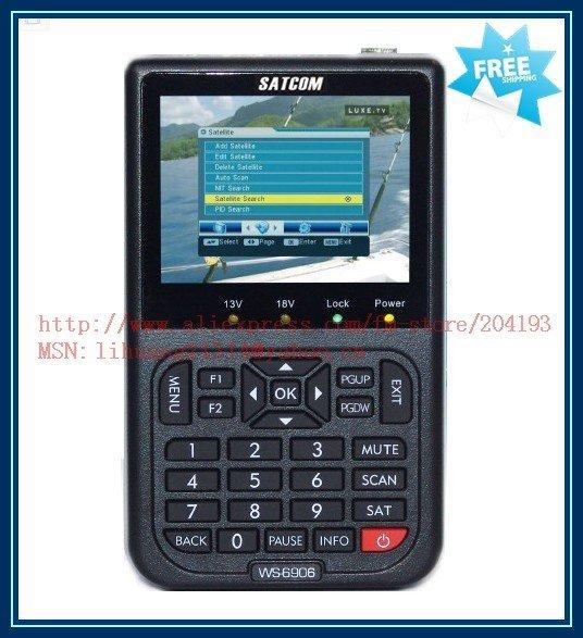Free Shipping, Satellite Finder, Satellite Finder Meter