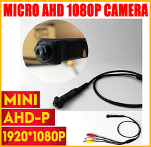 цена на Super Mini Audio Camera 1080P 2MP Security Surveilence CCTV mini Camera 3.7mm lens Wide Lens Video Super small video have cable