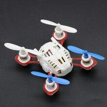 RC 2.4G 4CH 6 Axis Gyro Nano RC Quadcopter RTF RC FPV Saku Mikro Drone Pesawat