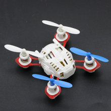 Rc 2.4G 4CH 6 Axis GYRO Nano RC Quadcopter RTF RC Helicopter FPV Micro Pocket Drone Aircraft(China)