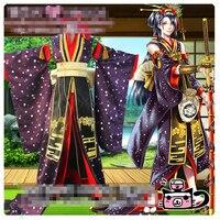 Touken Ranbu онлайн jirotachi Роскошные кимоно карнавальный костюм с аксессуаром изготовление под заказ