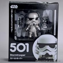 "Nendoroid Star Wars Stormtrooper #501 Darth Vader #502 Action PVC Figure Doll Toy 4 ""10 cm"