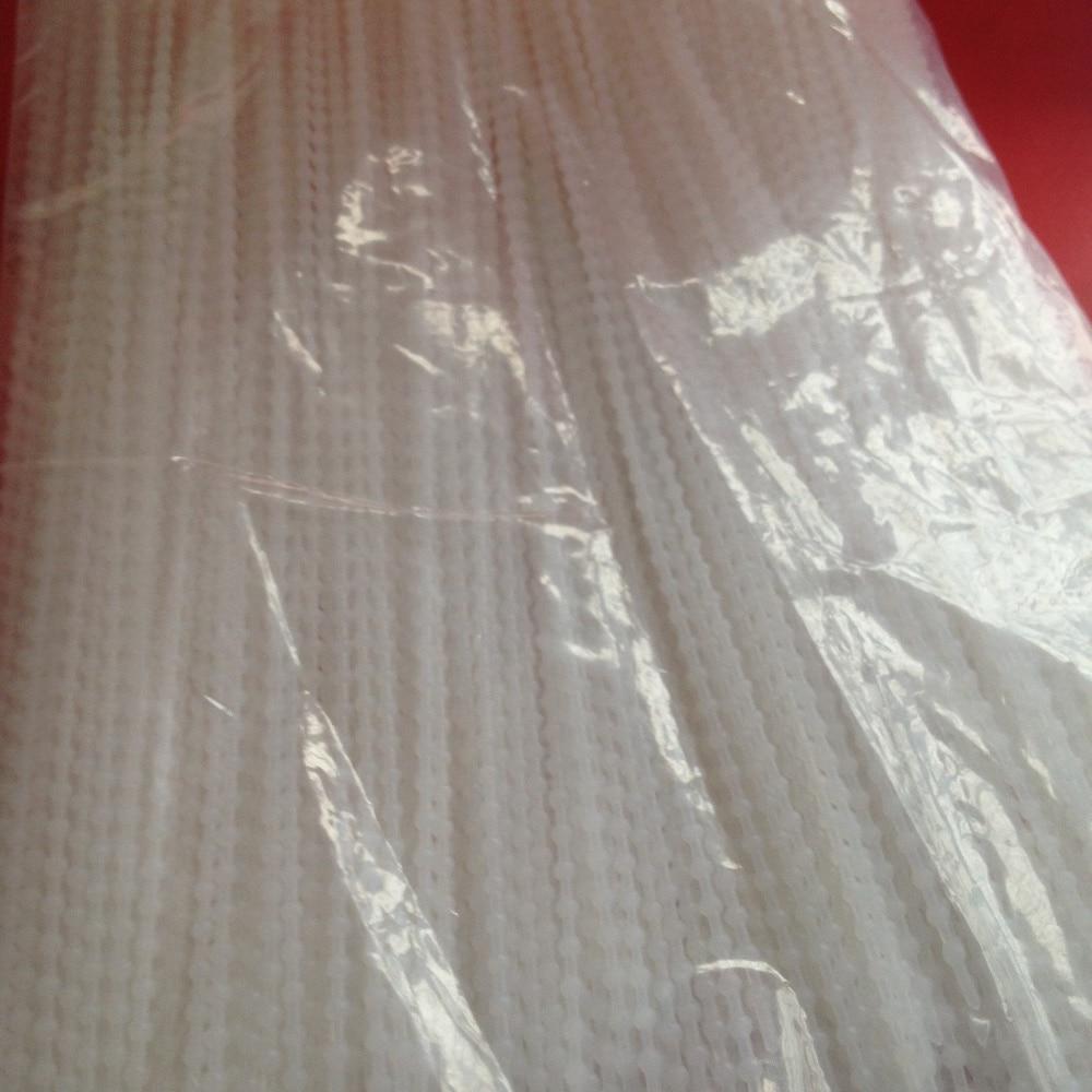 2.5*240mm bead tie nylon cable ties White Color Plastic Nylon Beaded push mount ties Slipknot loose tie bead type konza belt tpe170 reusable pe plastic cable management ties black 50 pcs