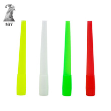 SY 10pcs 20pcs 30pcs 40pcs 50pcs Mixed Color Hookah Disposable Mouthpiece Chicha Tube Accessiorie 97MM Length